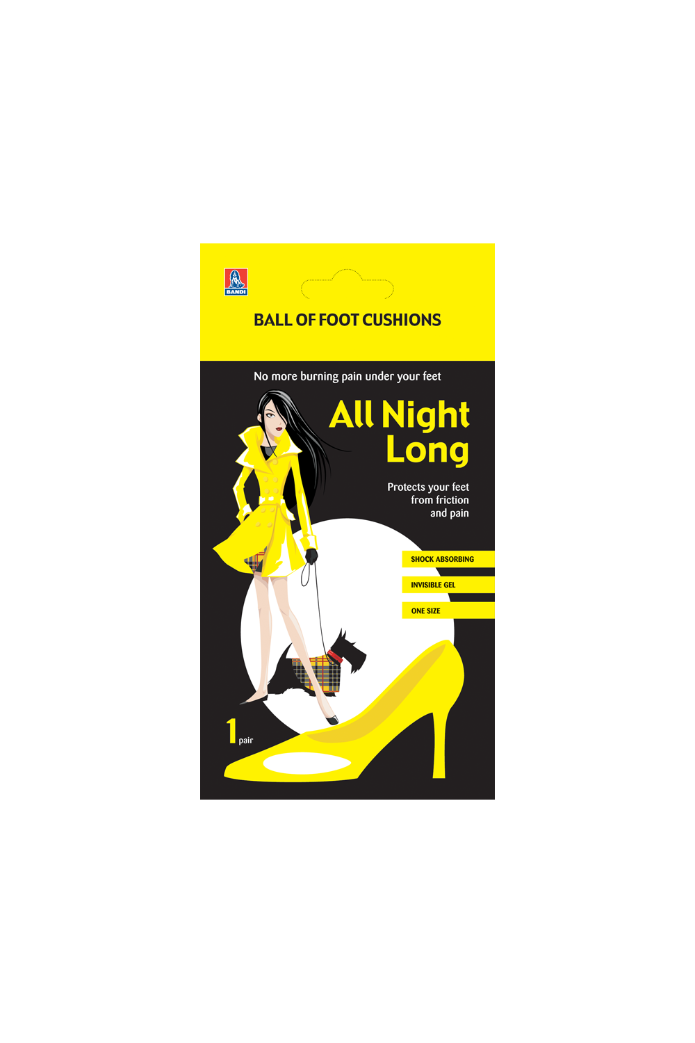 All Night Long - Ball of Foot Cushions