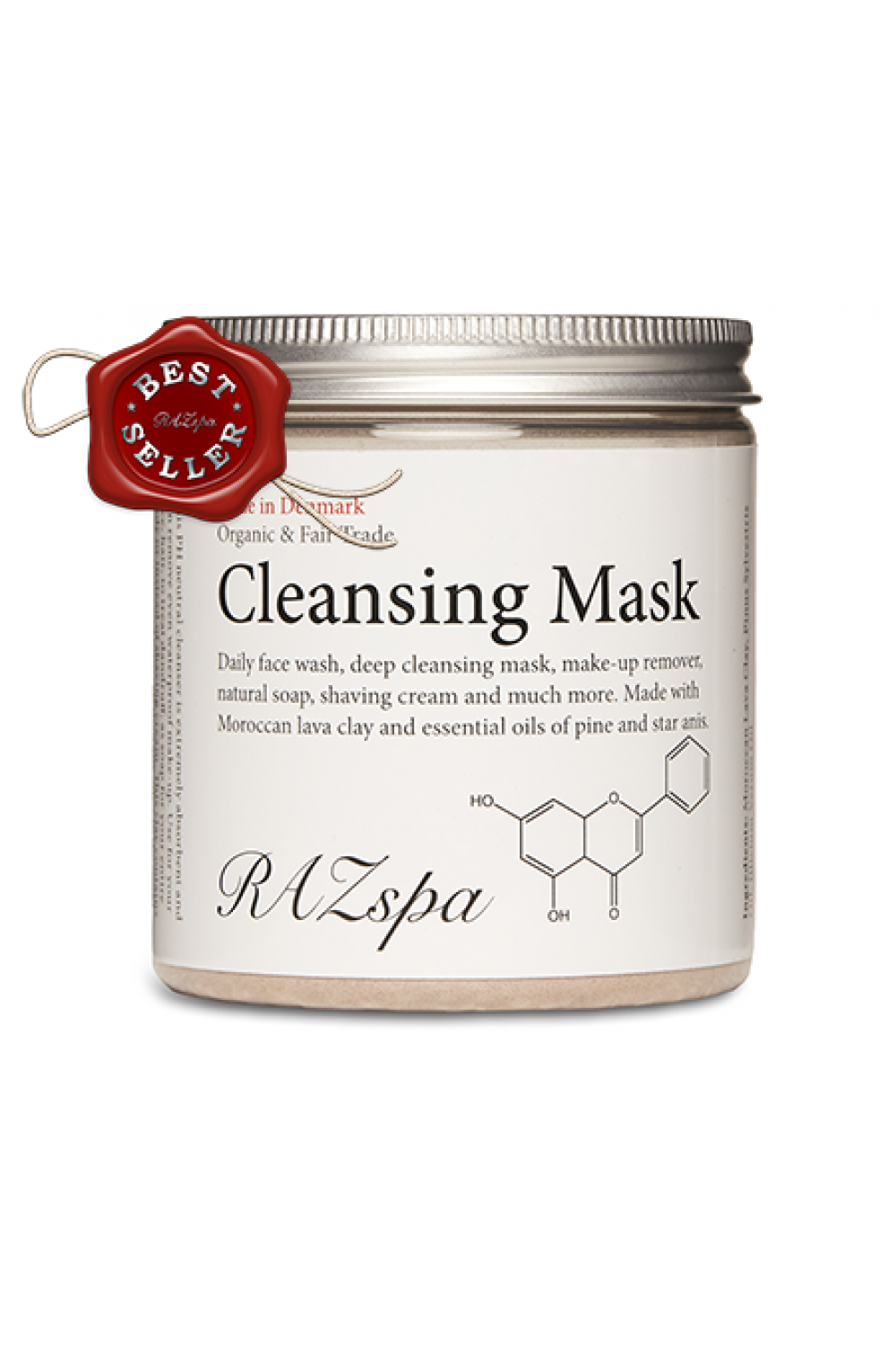 Cleansing Mask 200G – Organic and Fair Trade