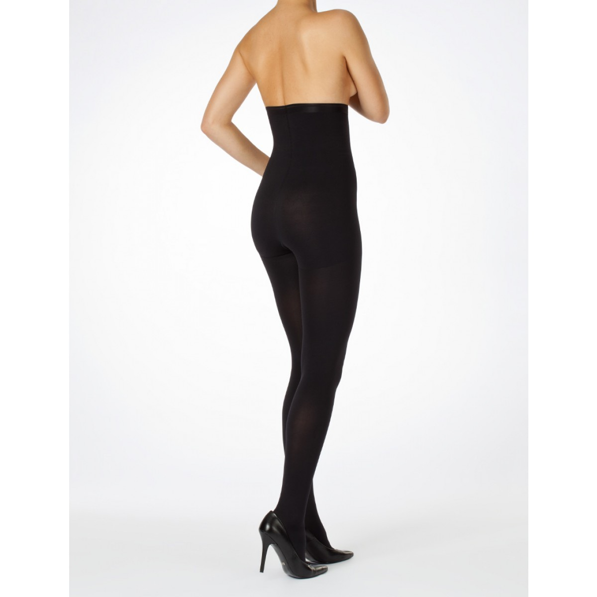 ITEM m6 Shapewear Tights Opaque Black-35