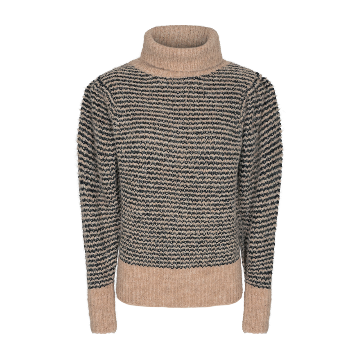 Cph Muse 123818 Perry Pullover Peyote-black mix as sms-31