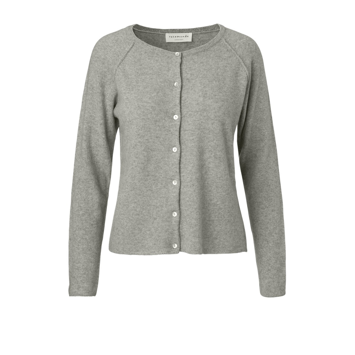 Rosemunde 1421-008 Cardigan Light Grey Melange-35
