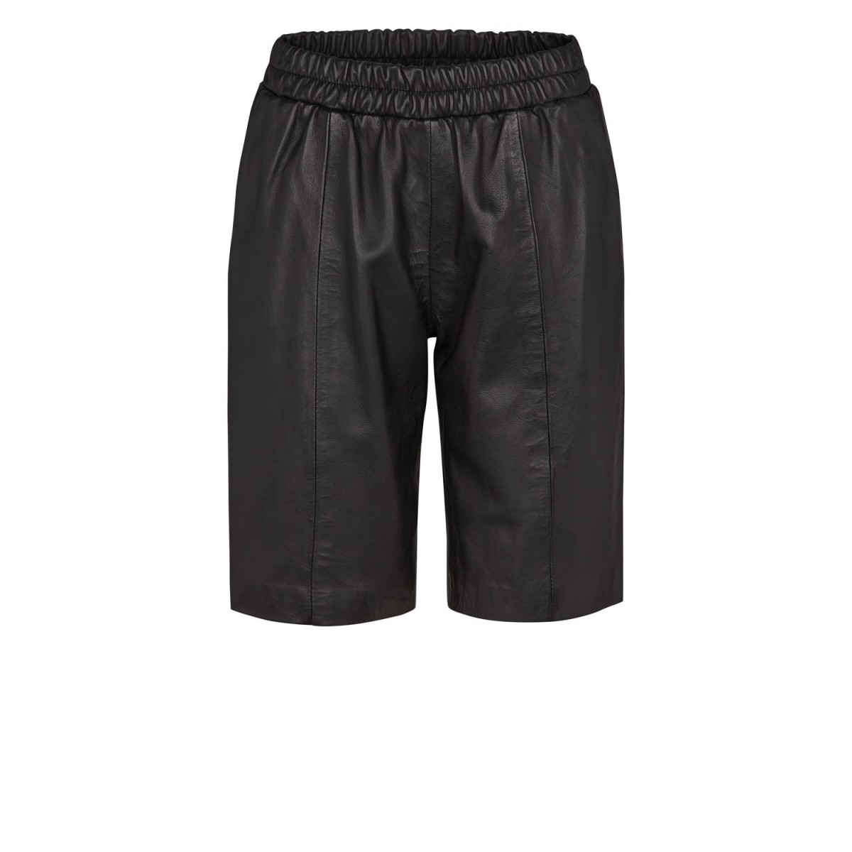 Moliin 6018 Camille Shorts Leather Black-31