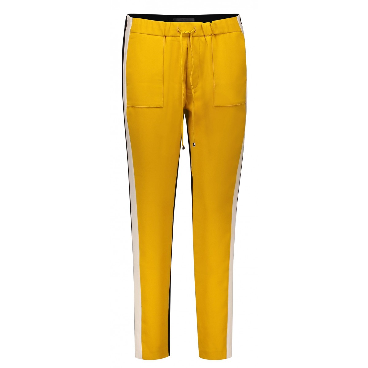 MAC Jeans Easy Chic Contrast Honey-Mustard-35