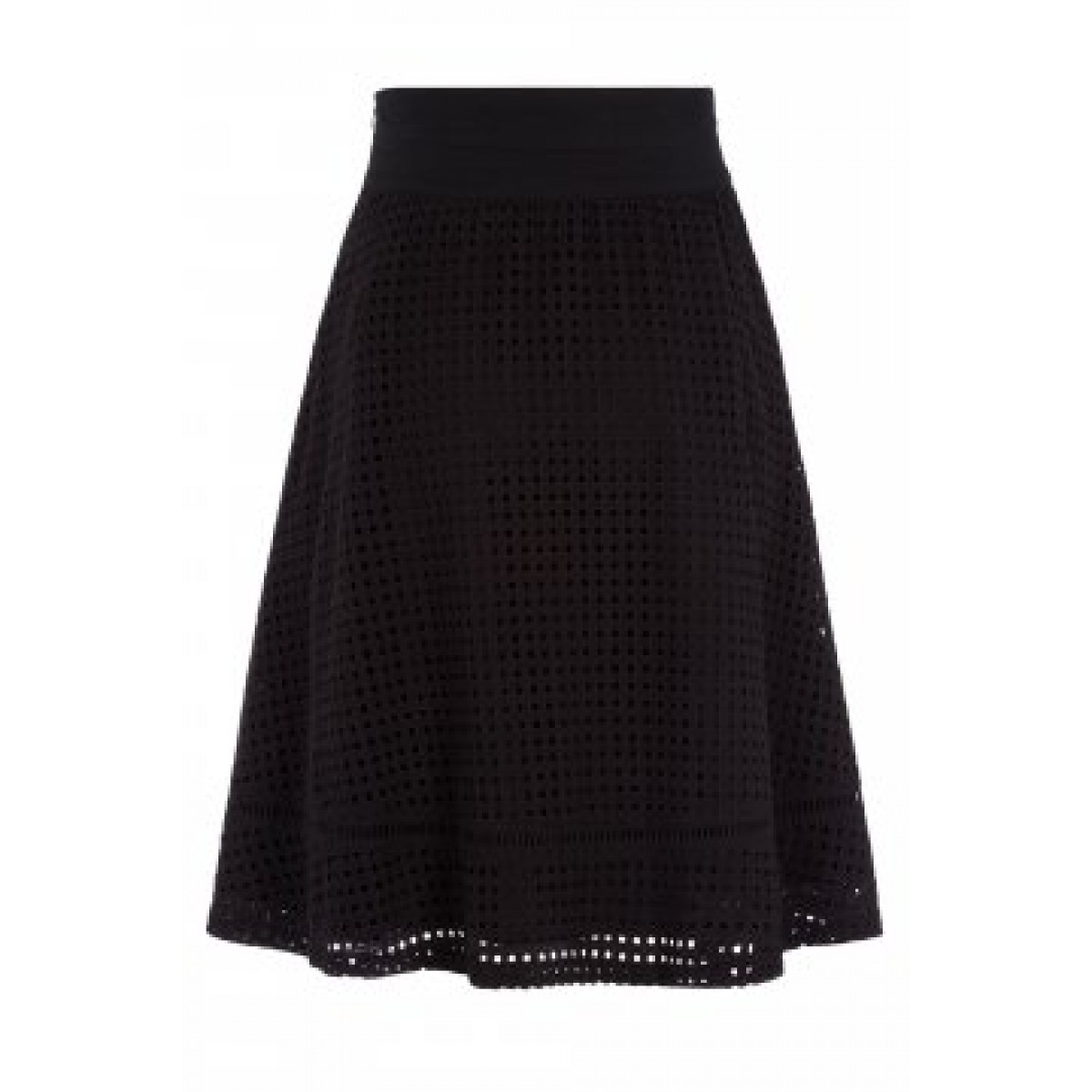 Oui 46976 Skirt Black-32