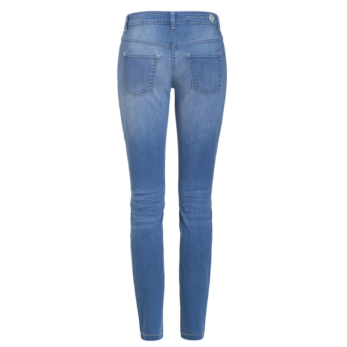 MAC Jeans Dream Skinny Authentic Mid Blue Used 5457 0375L D530-35