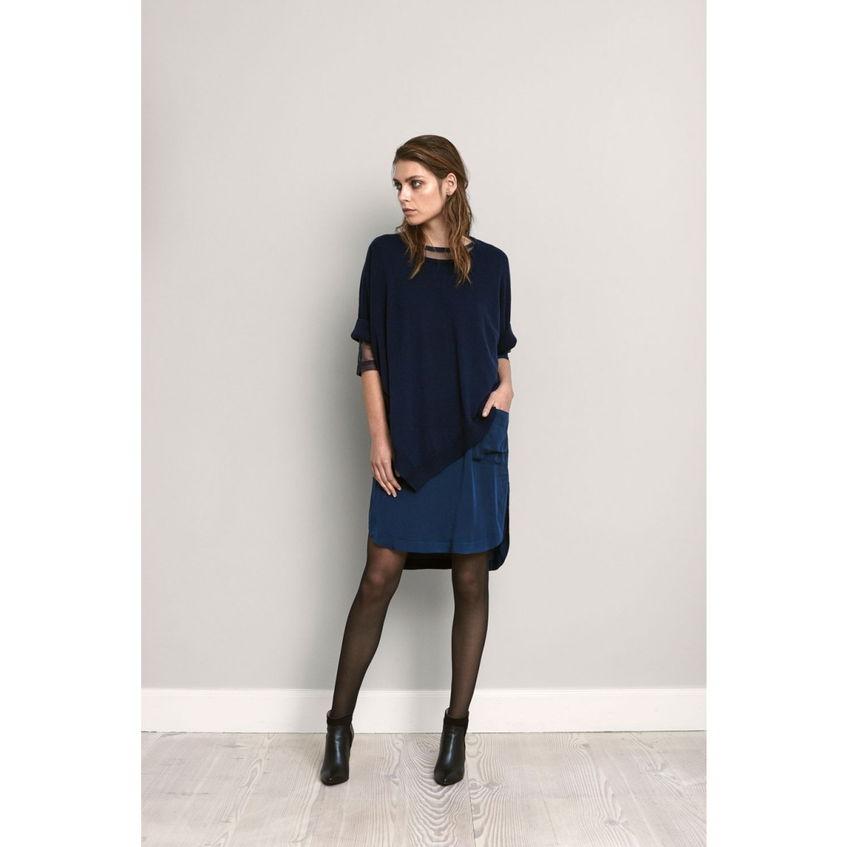 Rosemunde 6233-192 Dress Dark Blue-32