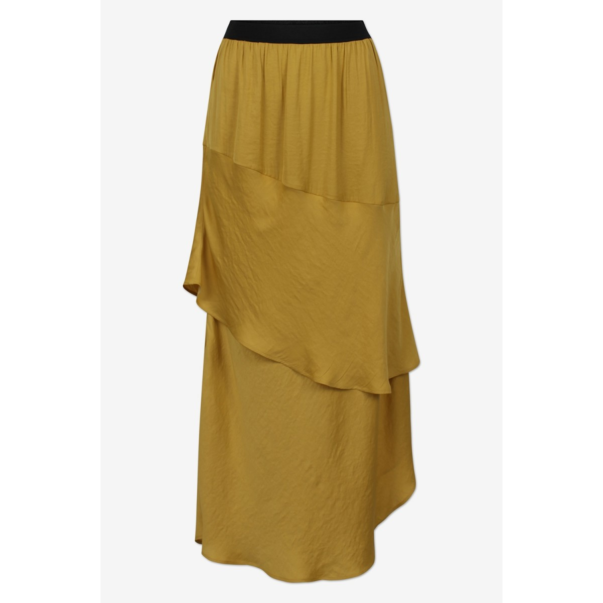Six Ames Samour Special Edition Skirt C3162 Curry Yelow-32