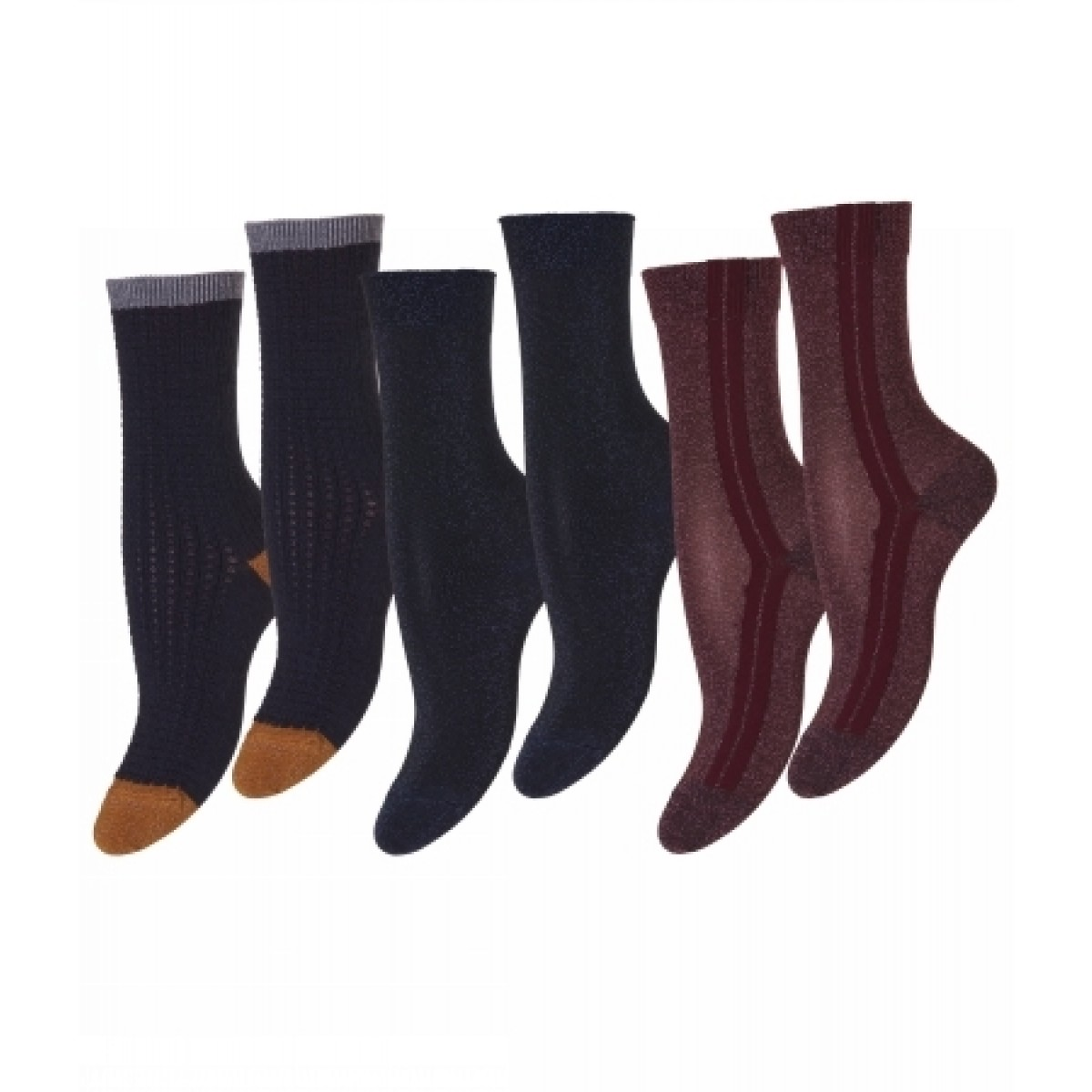 MP 79526 745 Ankle Nille 3pk-30