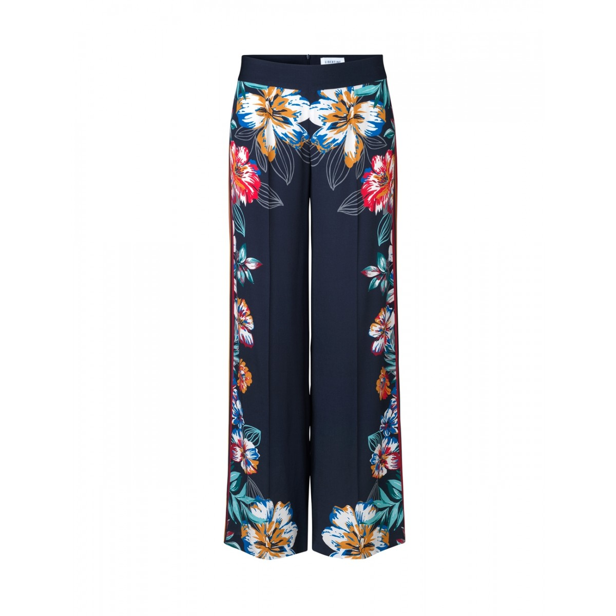 Libertine-Libertine Blonde Trousers Navy Flower-31