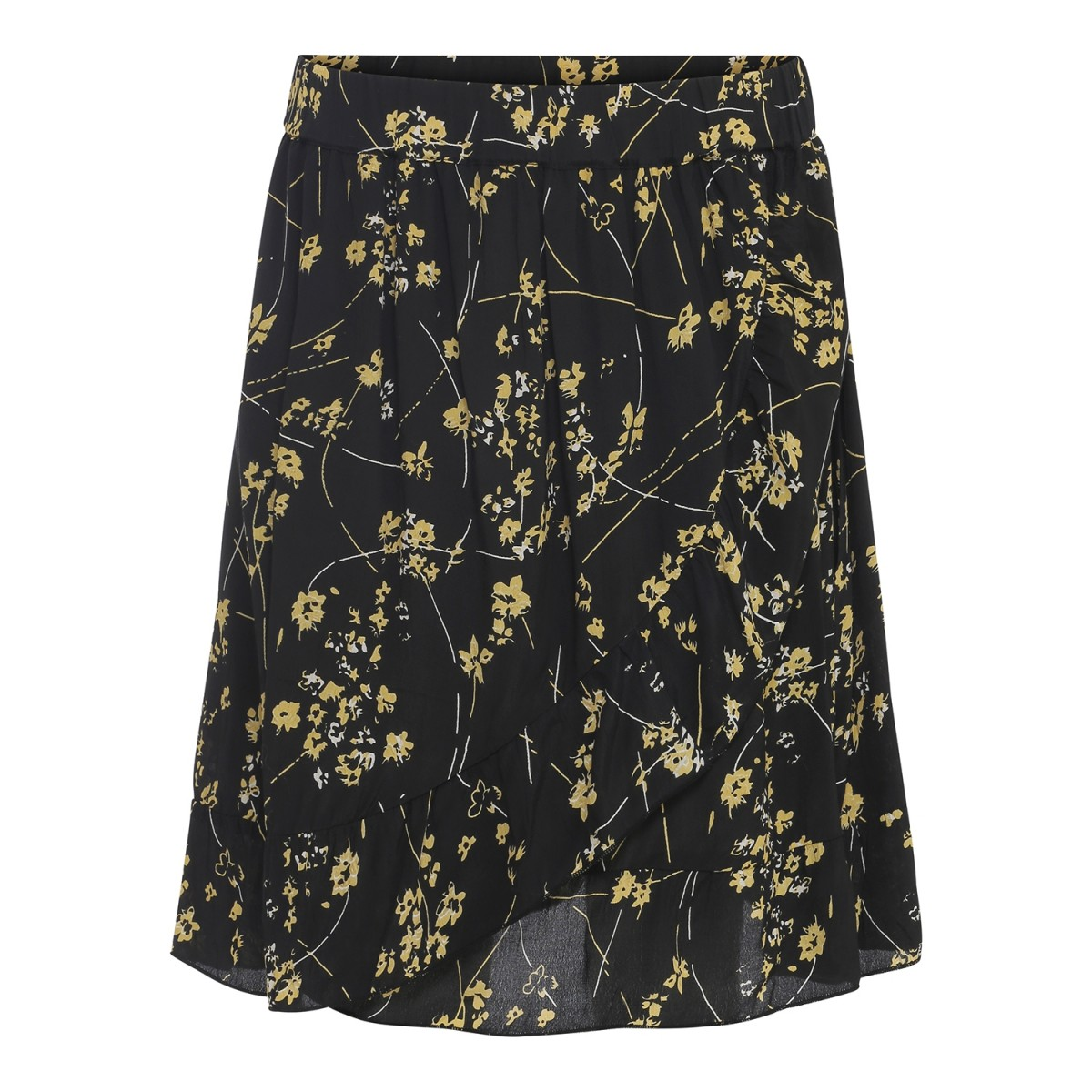 Maché Dallas Skirt Black-31