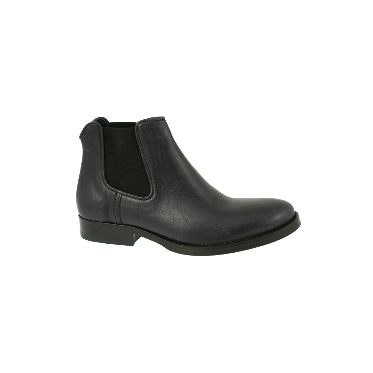 Mentor W7179 Chelsea Boot Navy Leather-35