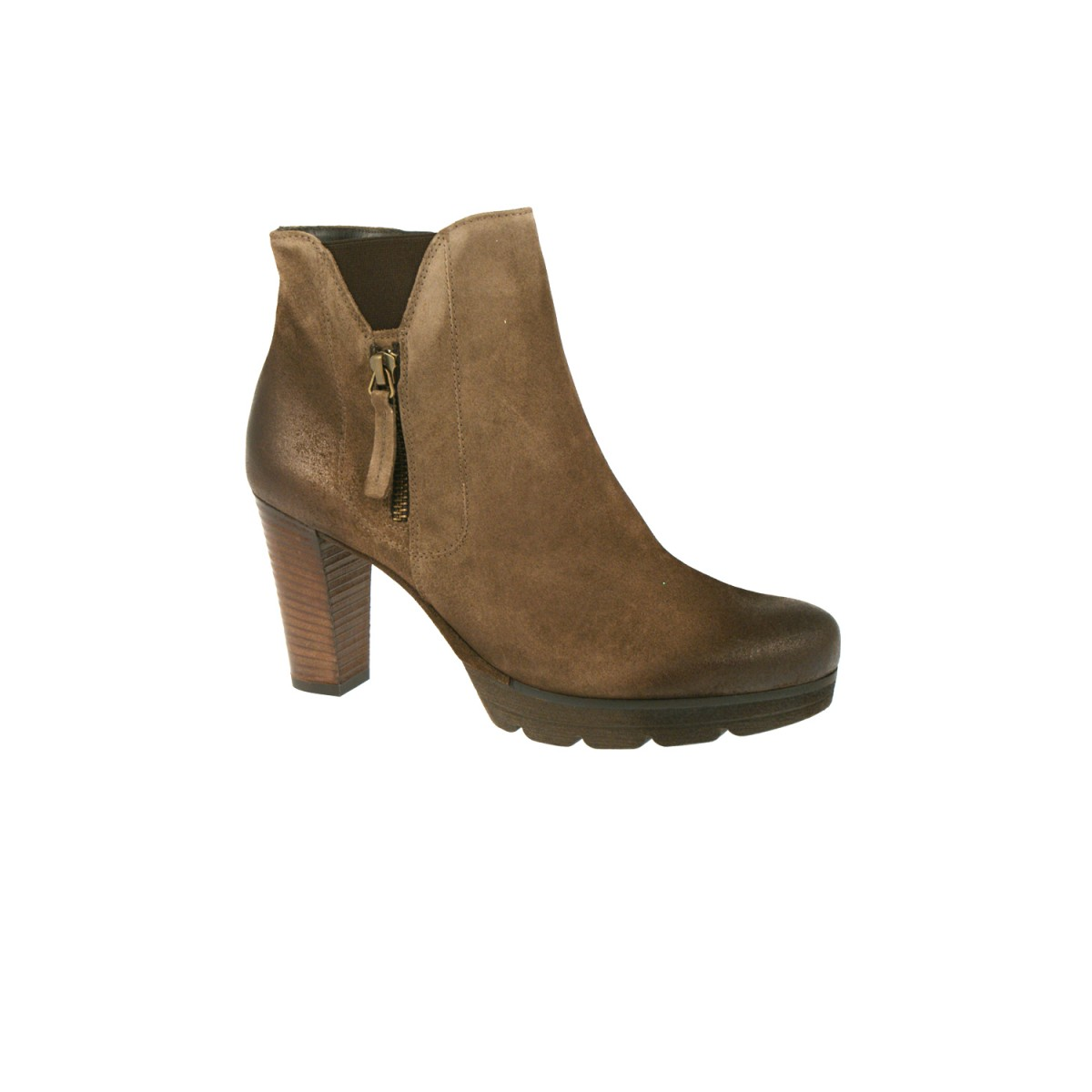 Paul Green 8722-01 Royal Suede Earth Stained-35