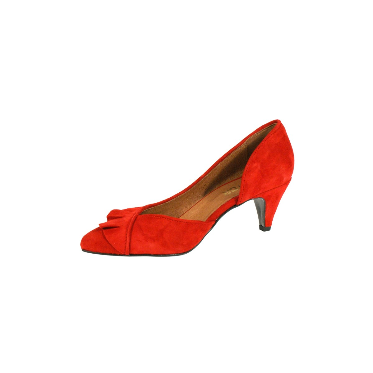 Mentor W7771 Red Suede-31