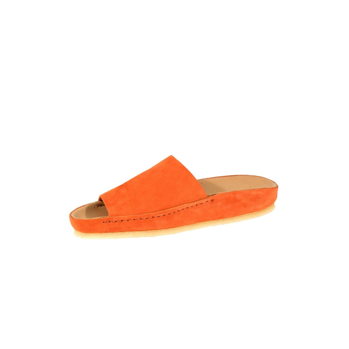 Clarks Ranger Free Orange Nubuck-31