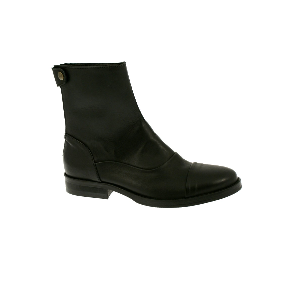 Mentor Boot W6507 Black Leather-35