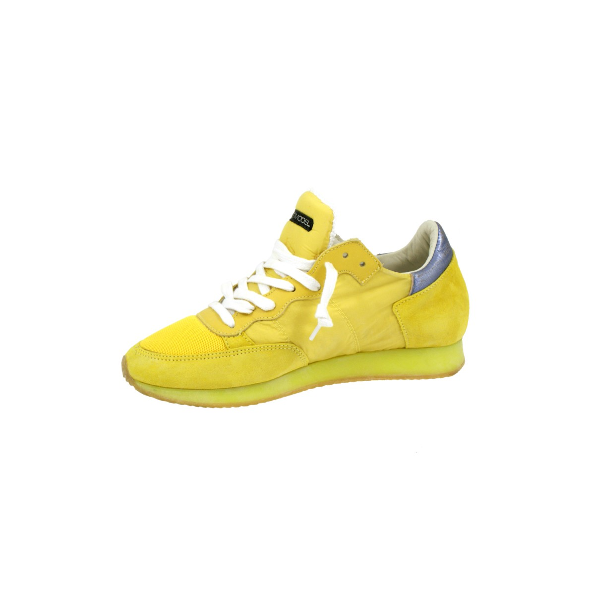 Philippe Model TRLD NT01 Neon Yellow / Silver-35