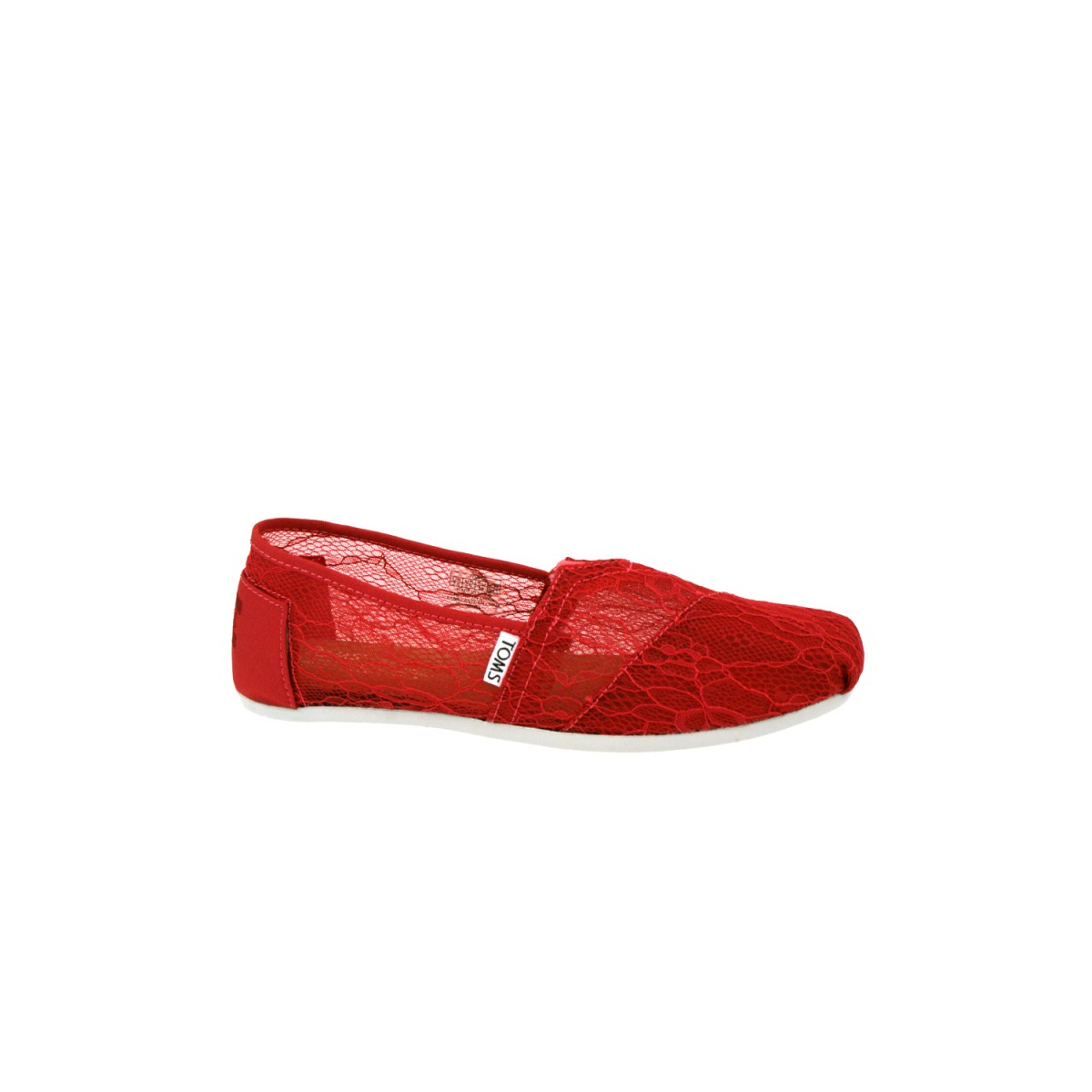 TOMS Lace Raspberry-35