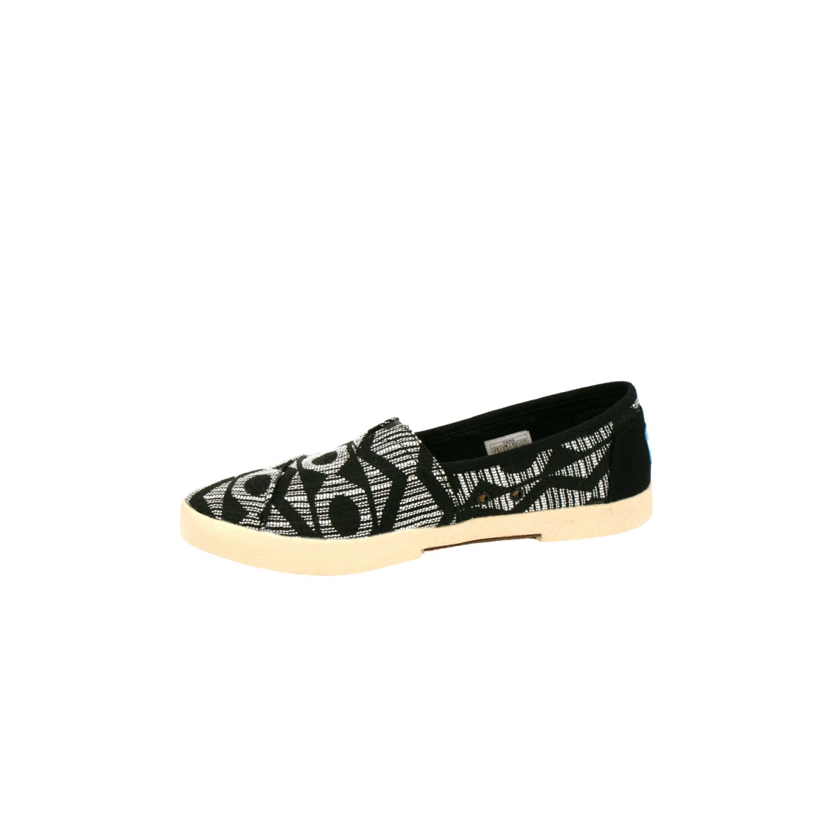 TOMS Avalon Sneaker Black Tribal Woven-32