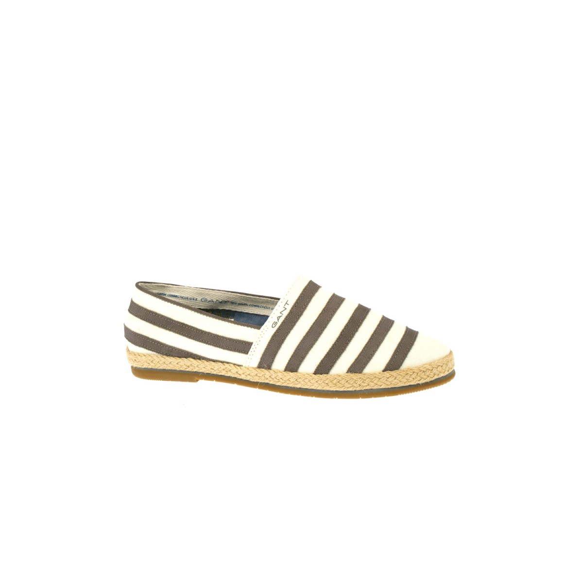 Gant Gina Stripe Cream/Silver Grey-35