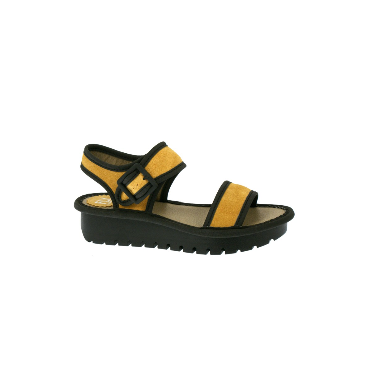 Fly London Kish Mustard Black-35