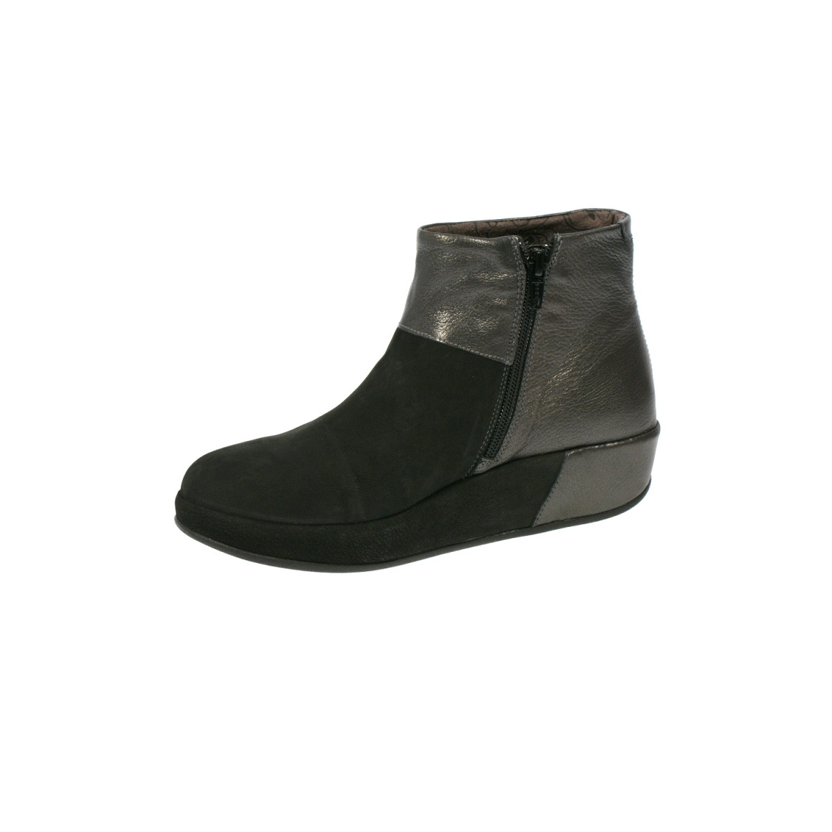 Fly London Brie Black/Graphite-32