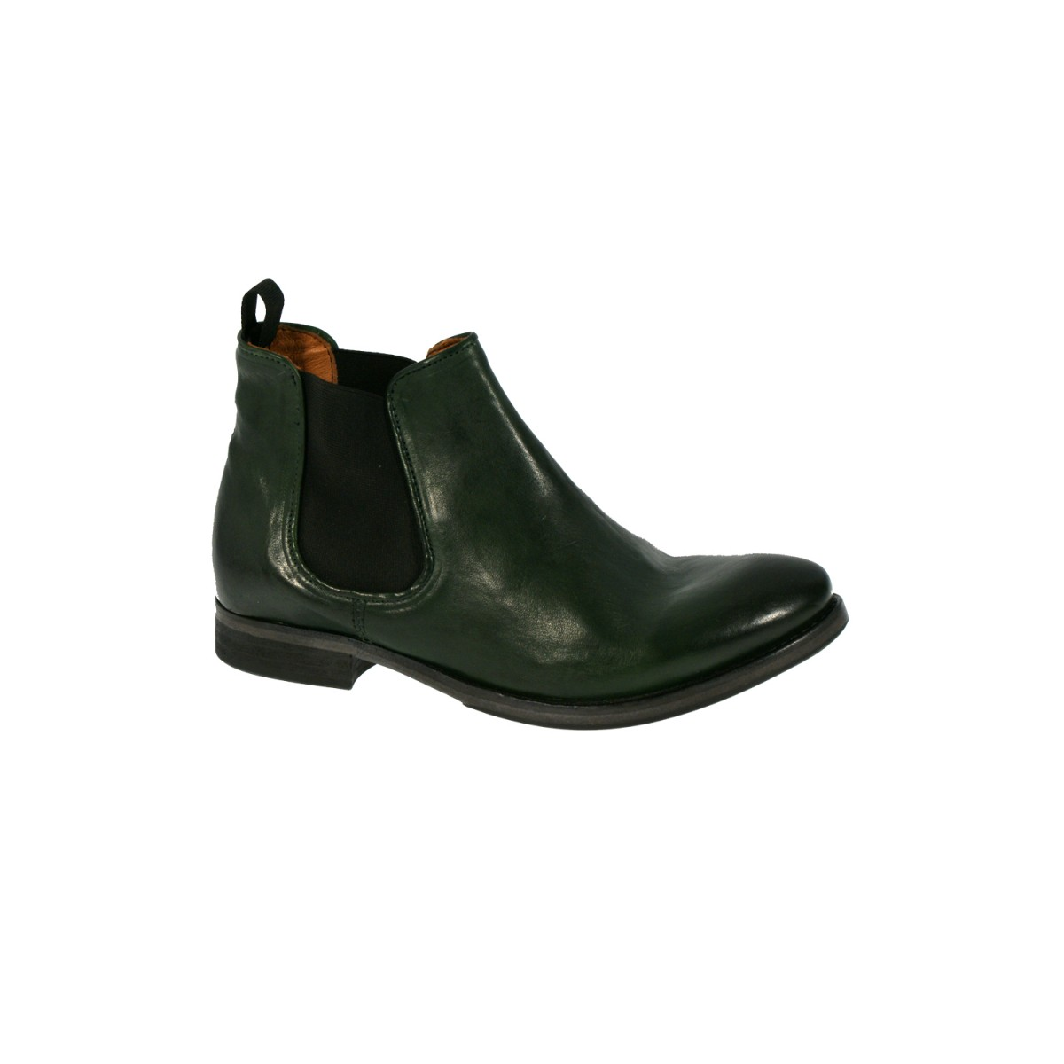 Mentor W7375 Chelsea Boot Green Leather-35