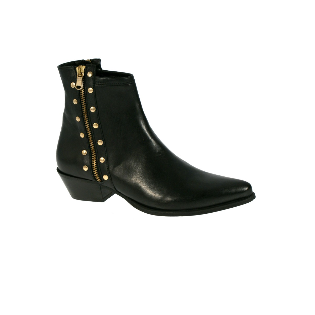 Mentor W7390 Ankle Boot Black Leather-31