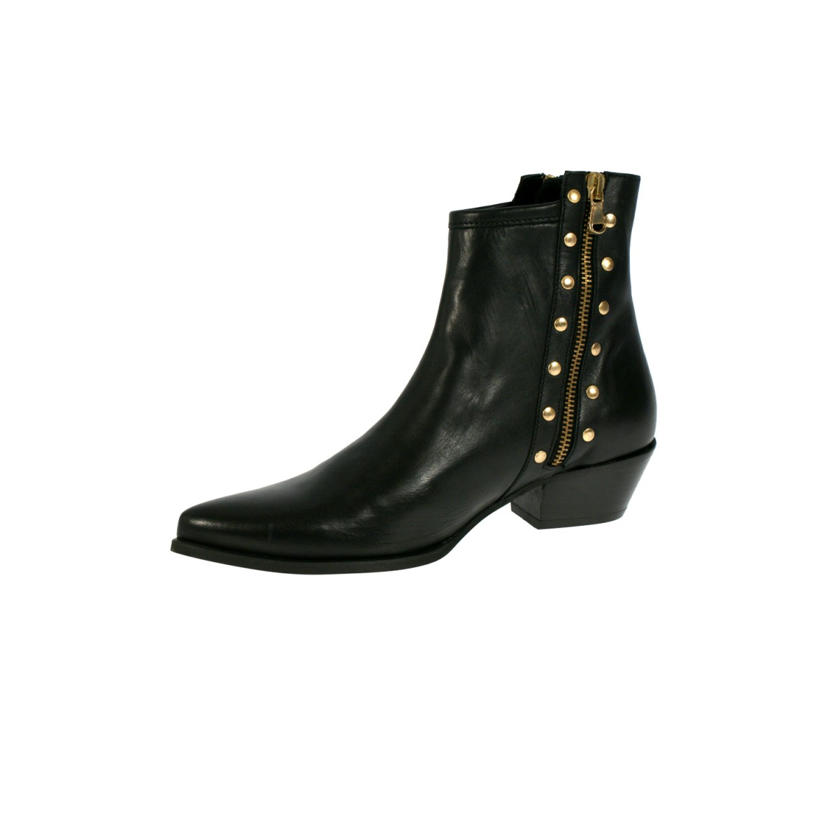 Mentor W7390 Ankle Boot Black Leather-35
