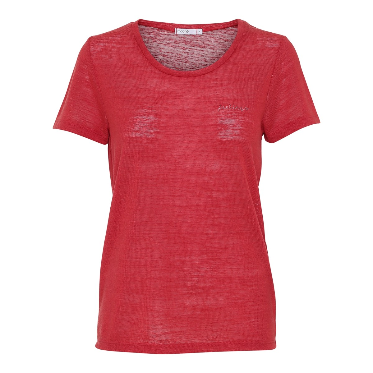 Maché Feelings Tee Red-31
