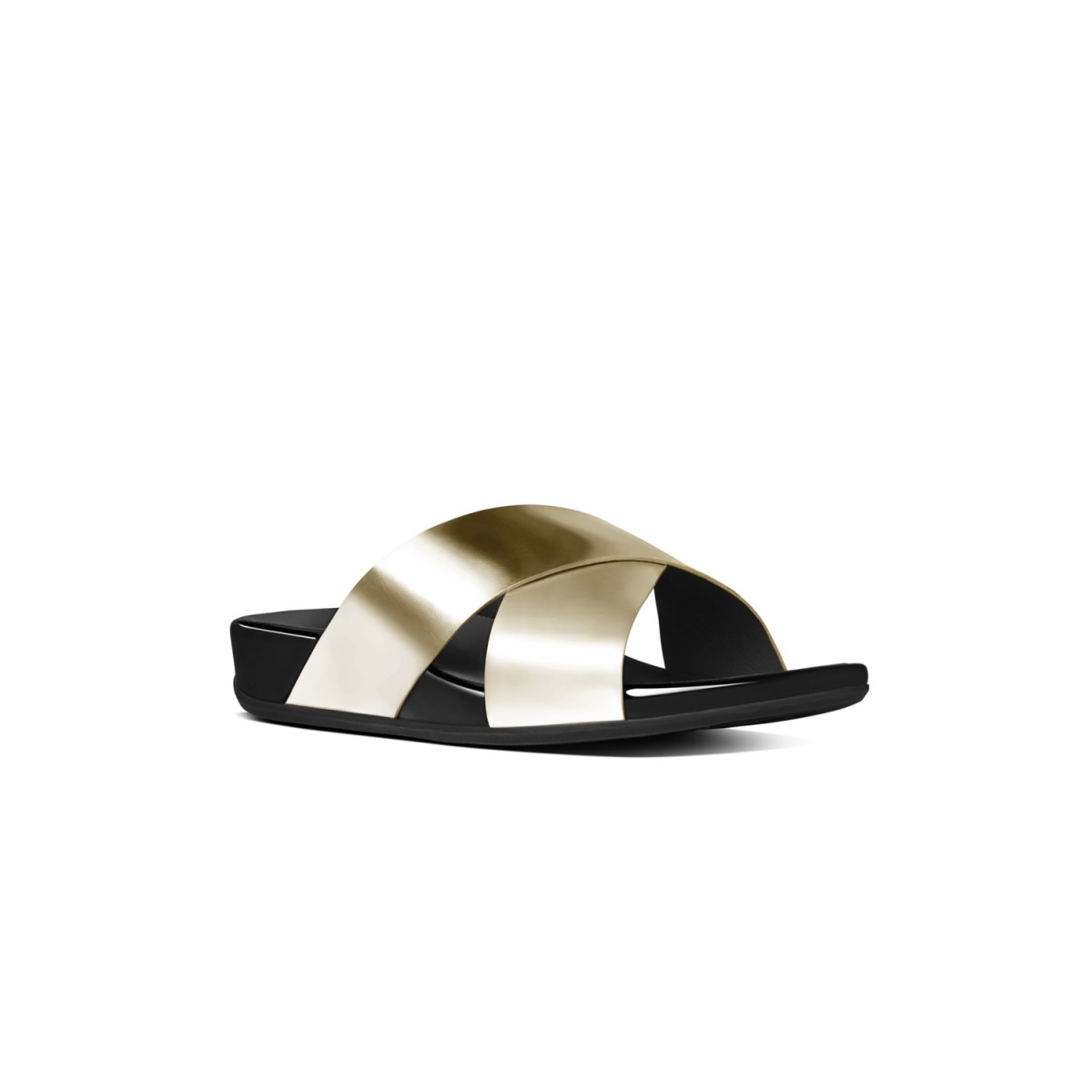 FitFlop Aix™ Slide Pale Gold-35