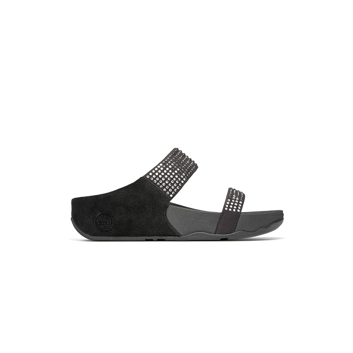 FitFlop Flare™ Slide Black-35