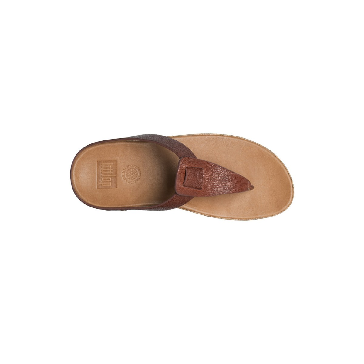 FitFlop Ibiza™ Cork Dark Tan-34
