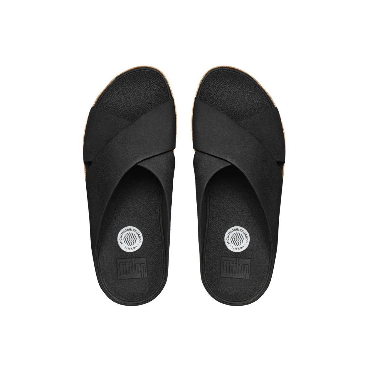 FitFlop Kys™ Leather All Black-35