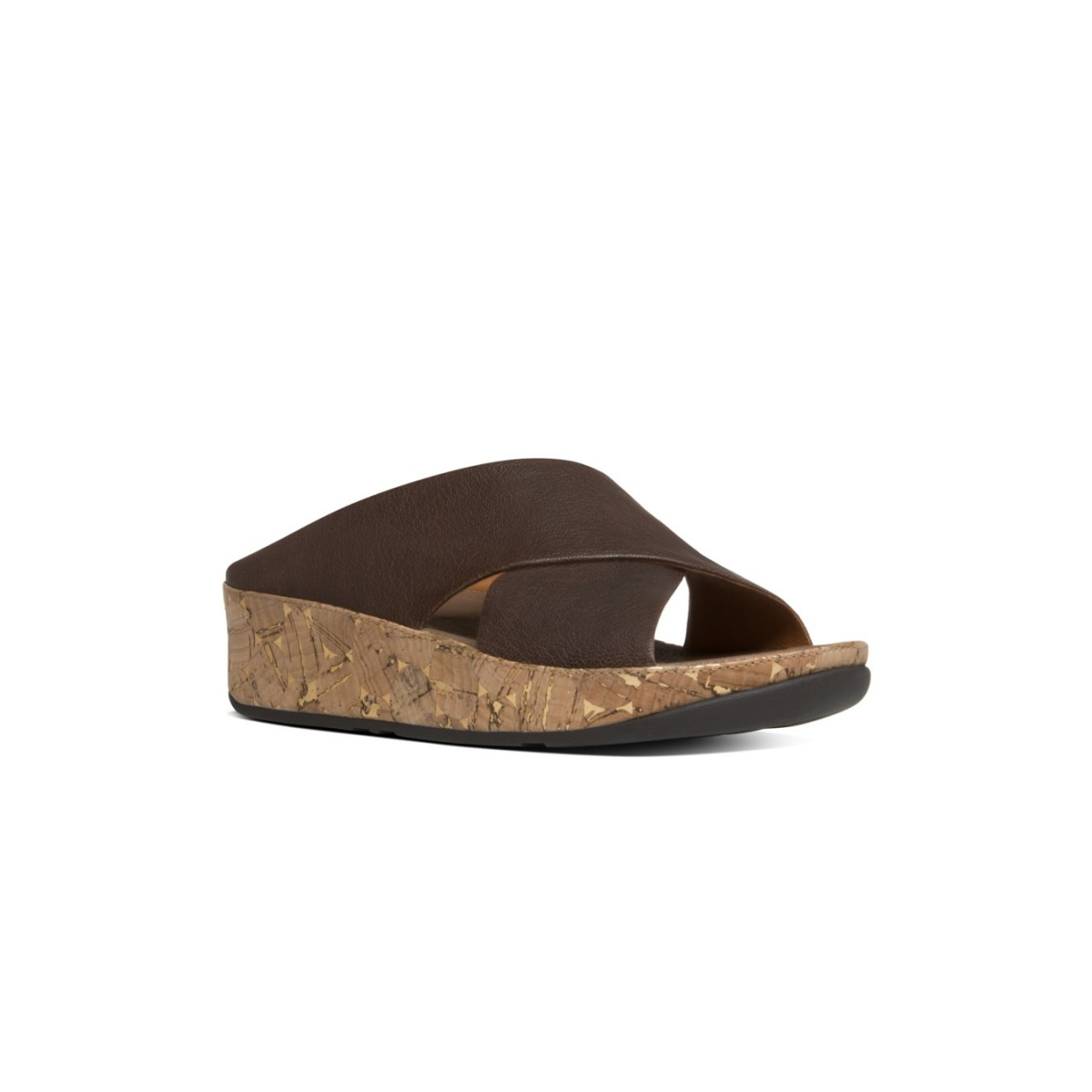 FitFlop Kys™ Leather Chocolate-35