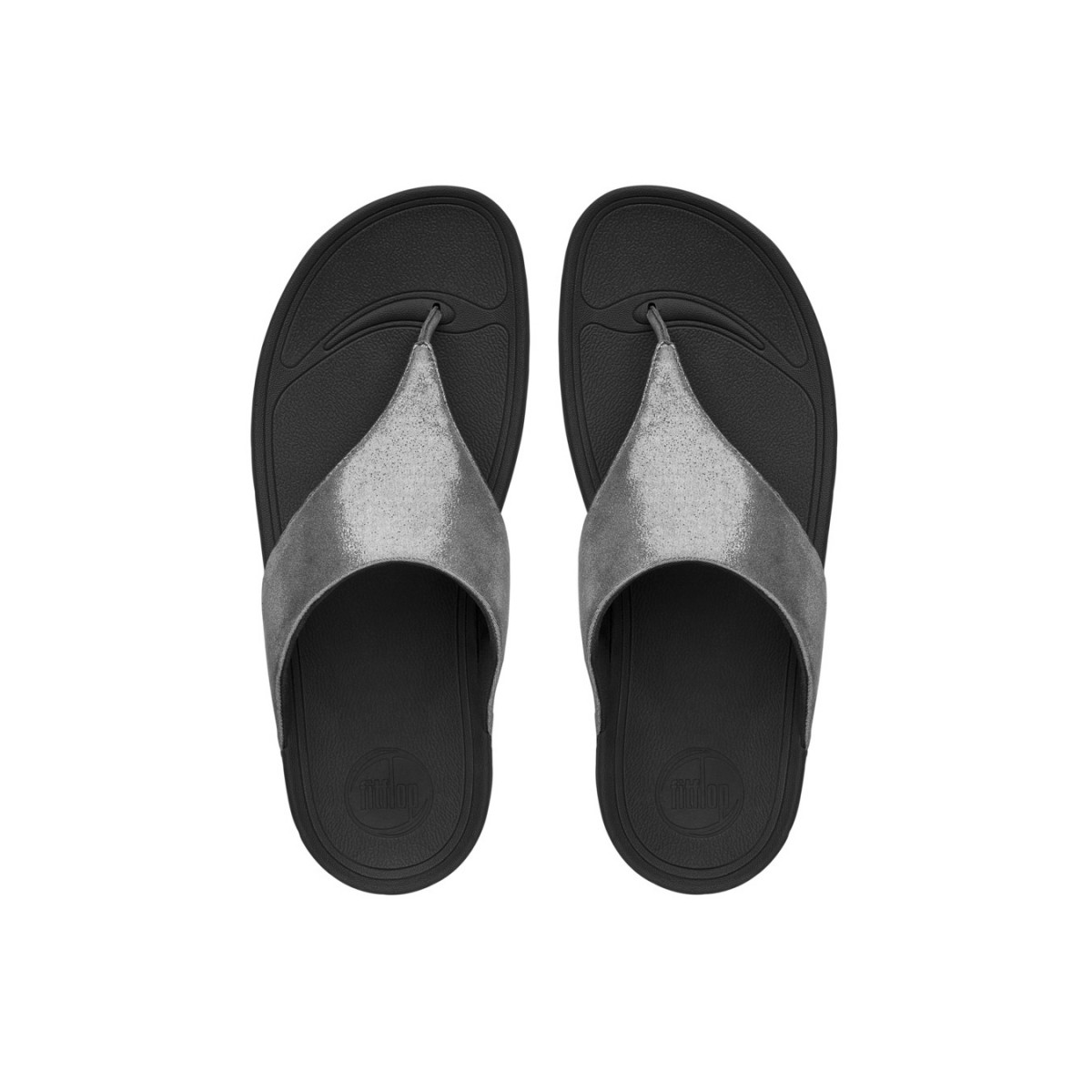 FitFlop Lulu™ Shimmer Pewter-35