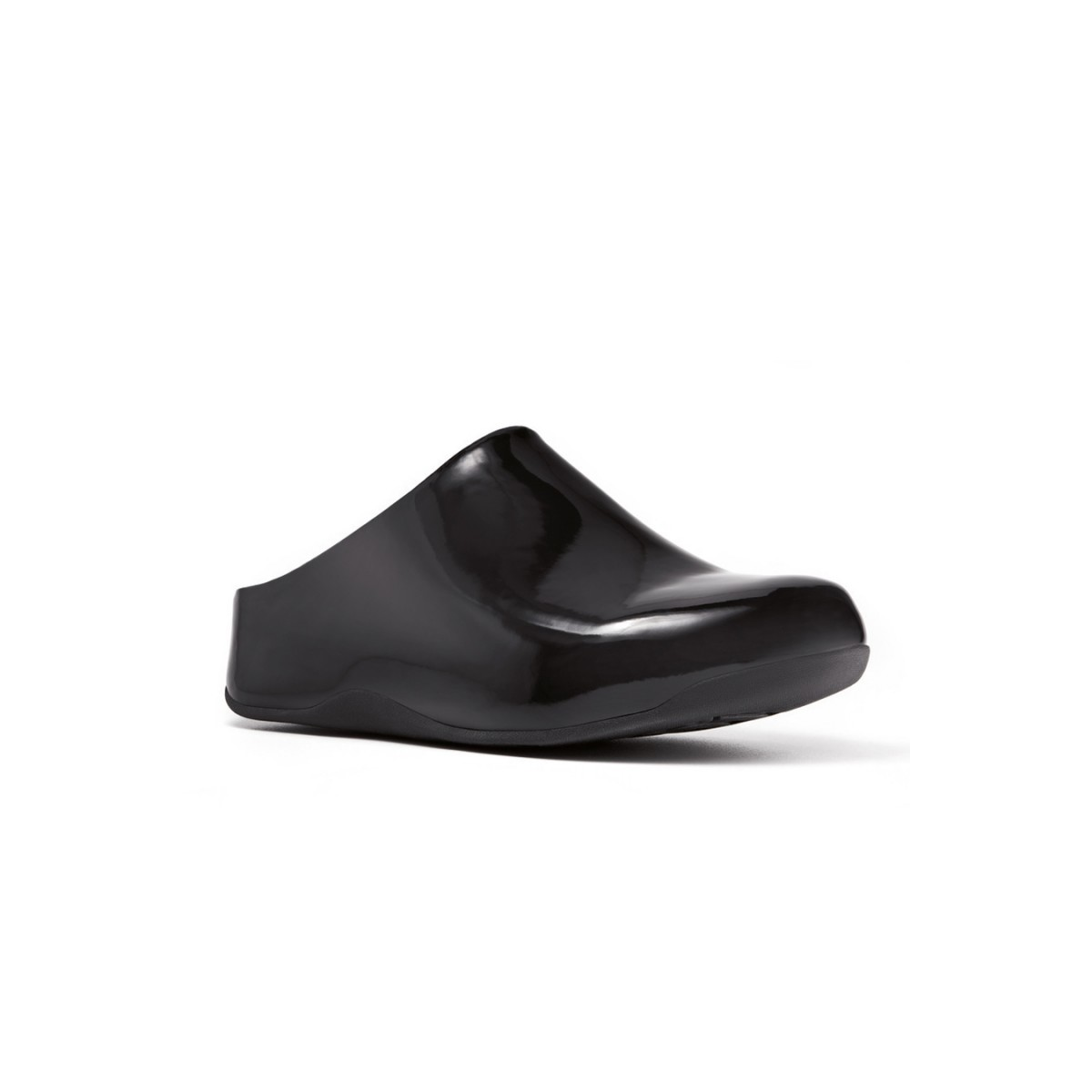 FitFlop Shuv™ Patent Black-35