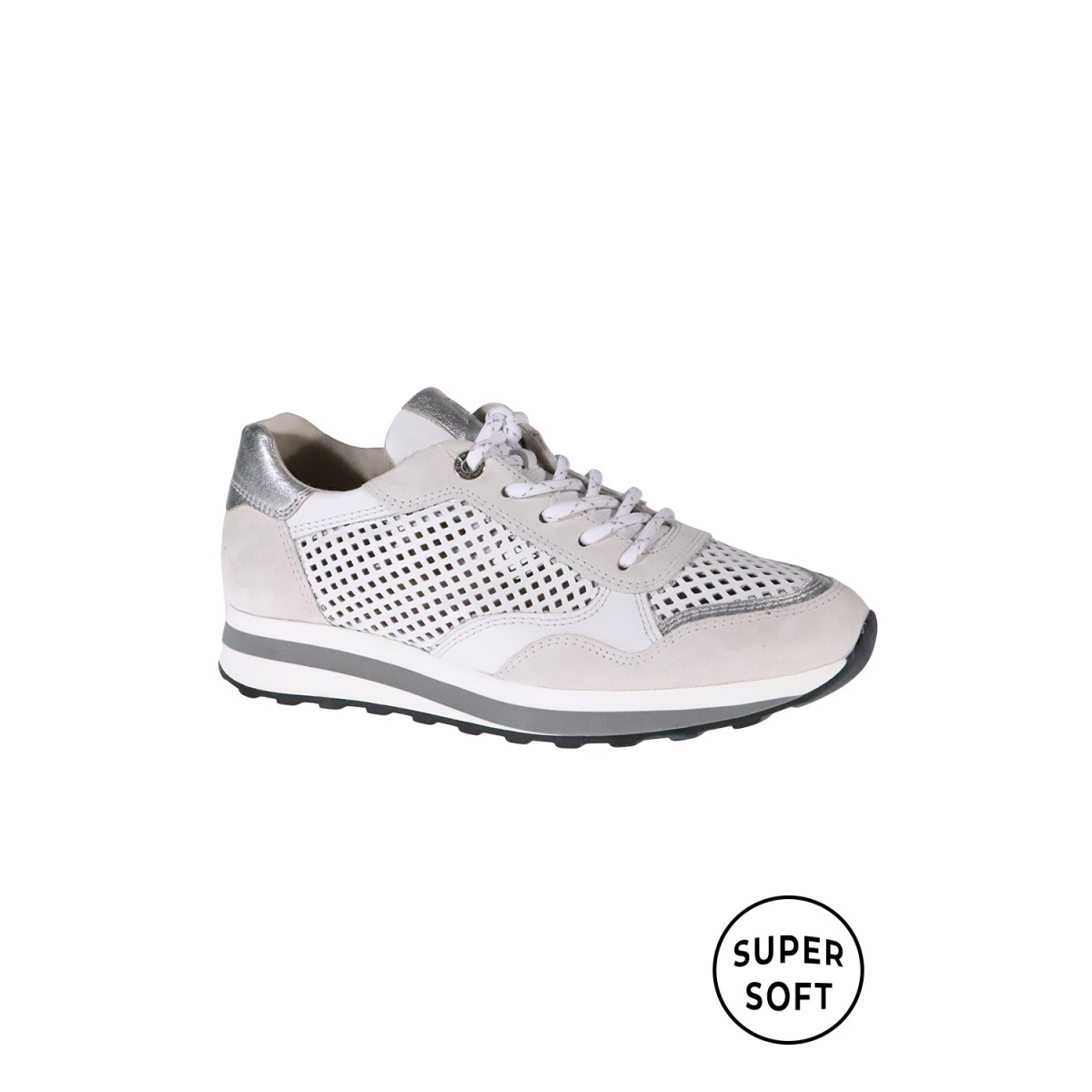Paul Green 4895-00 Suede Mastercalf Ice White-32