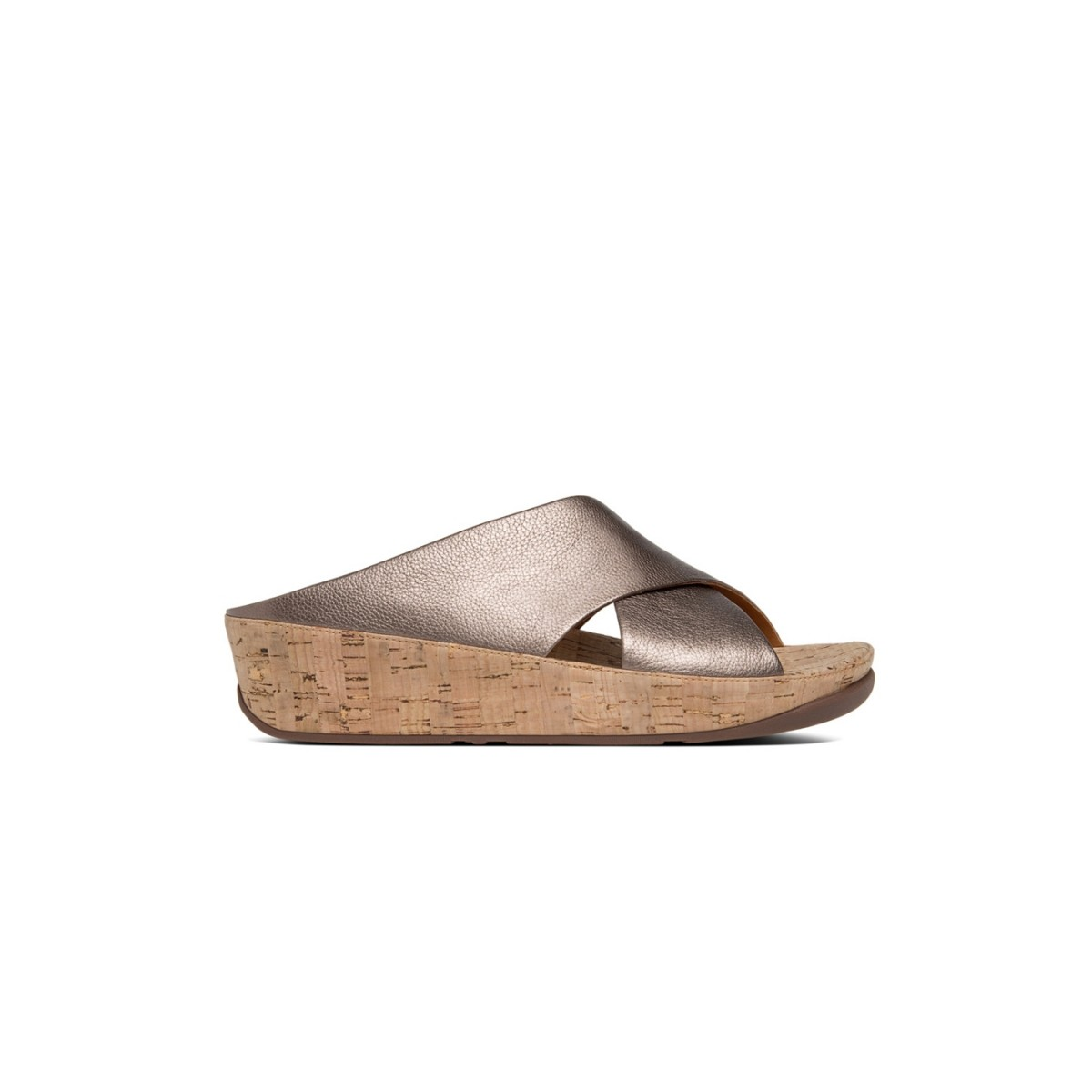 Fitflop Kys™ Leather Bronze-35