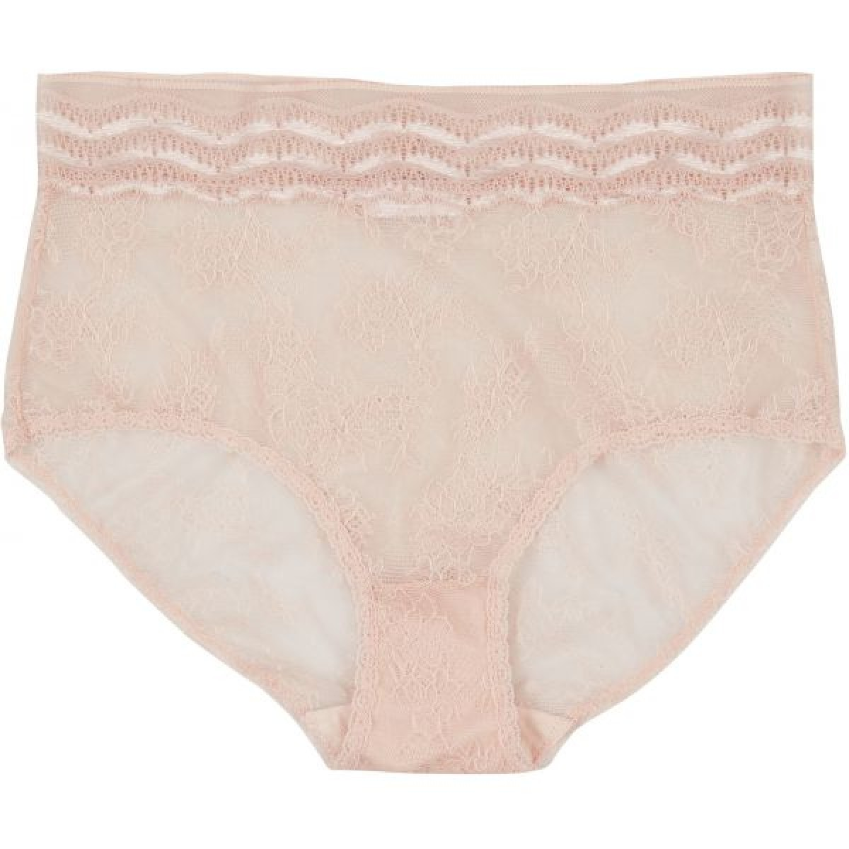 Lulu´s Drawer 1018 High Panty Blush-30