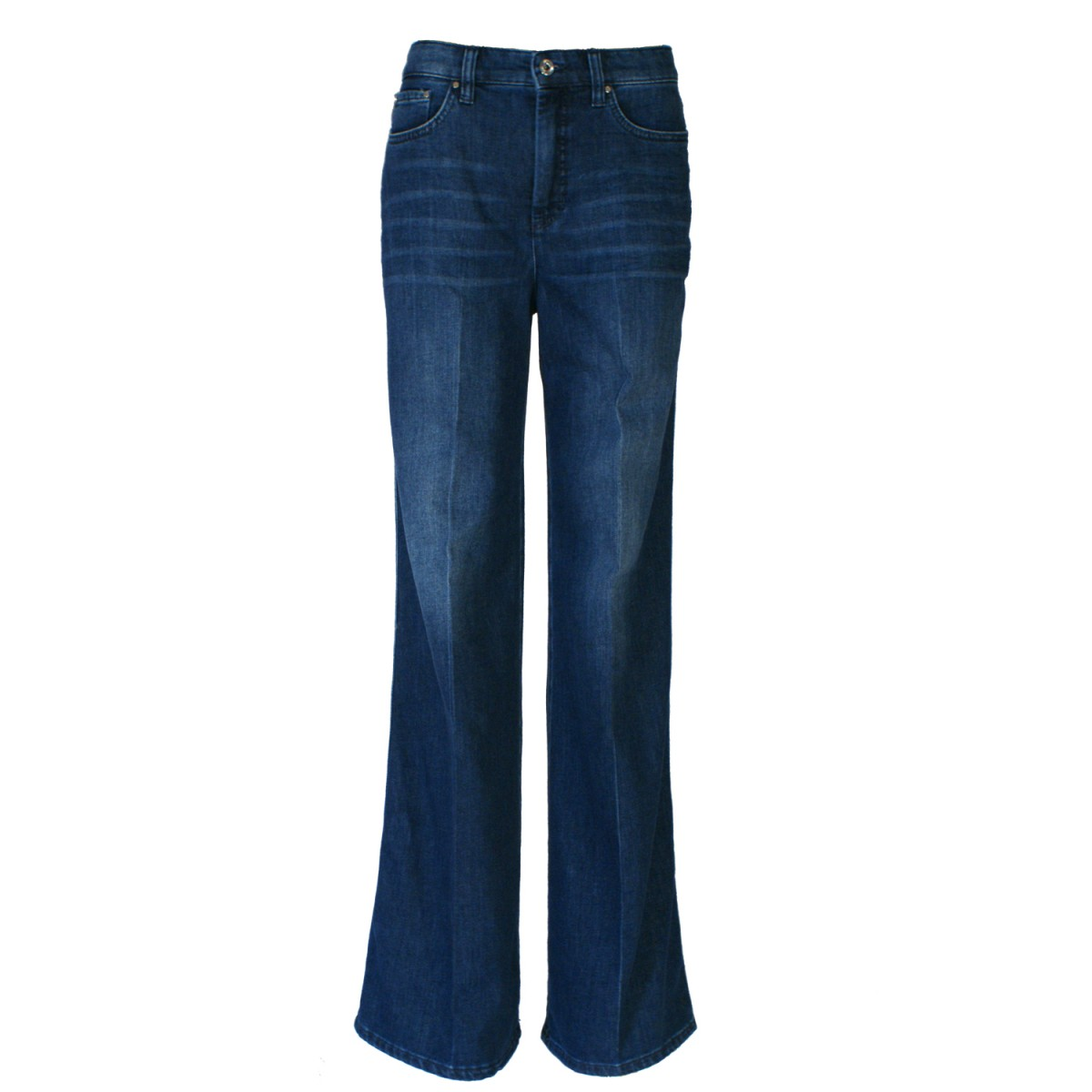 MAC Jeans Wide Leg Denim Mid Modern Blue 5800 0304 D643-35
