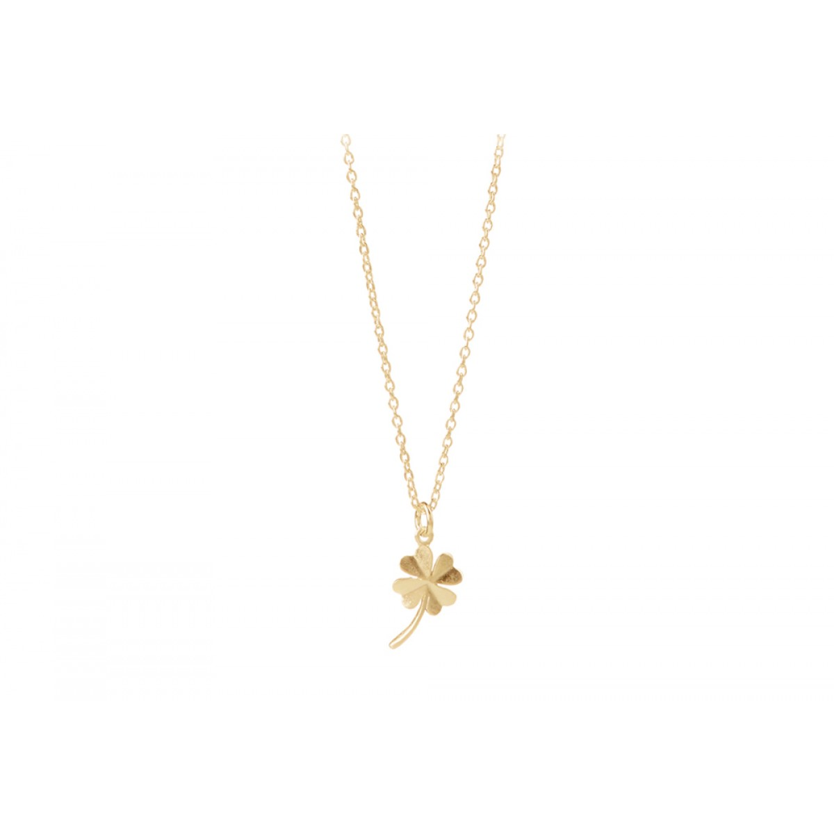 Pernille Corydon N320 Gold Clover Necklace-31