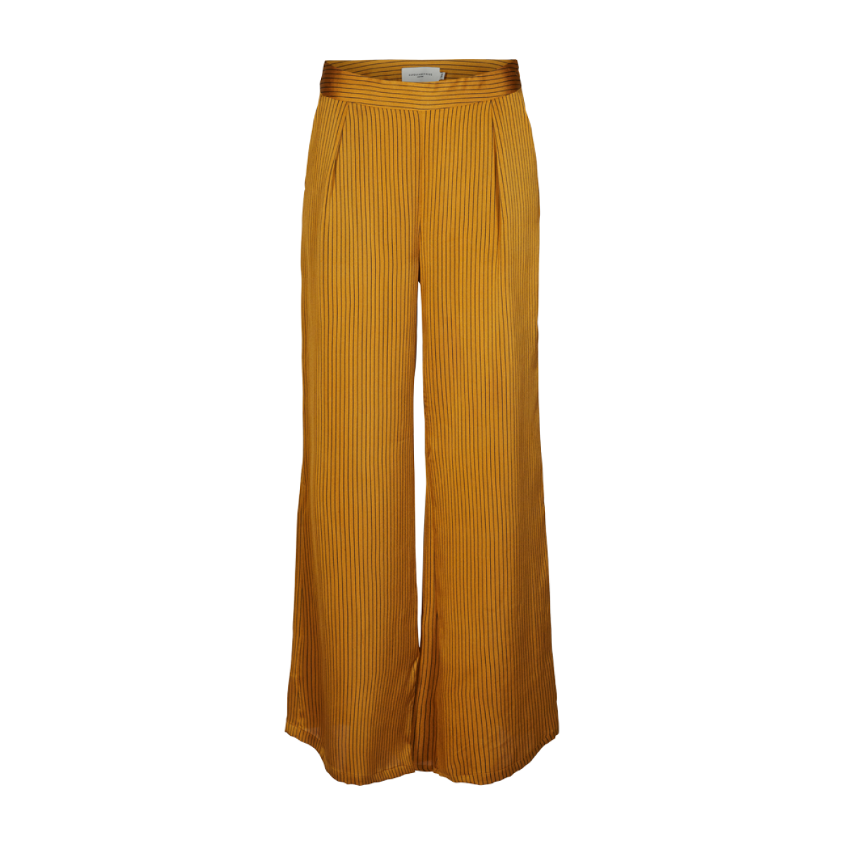 Cph Muse 122048 Paige Pants Wide Stripe Yellow Combi-32