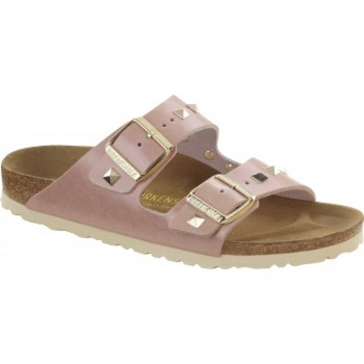 Birkenstock 0653063 Arizona Rose Gold Studs-30