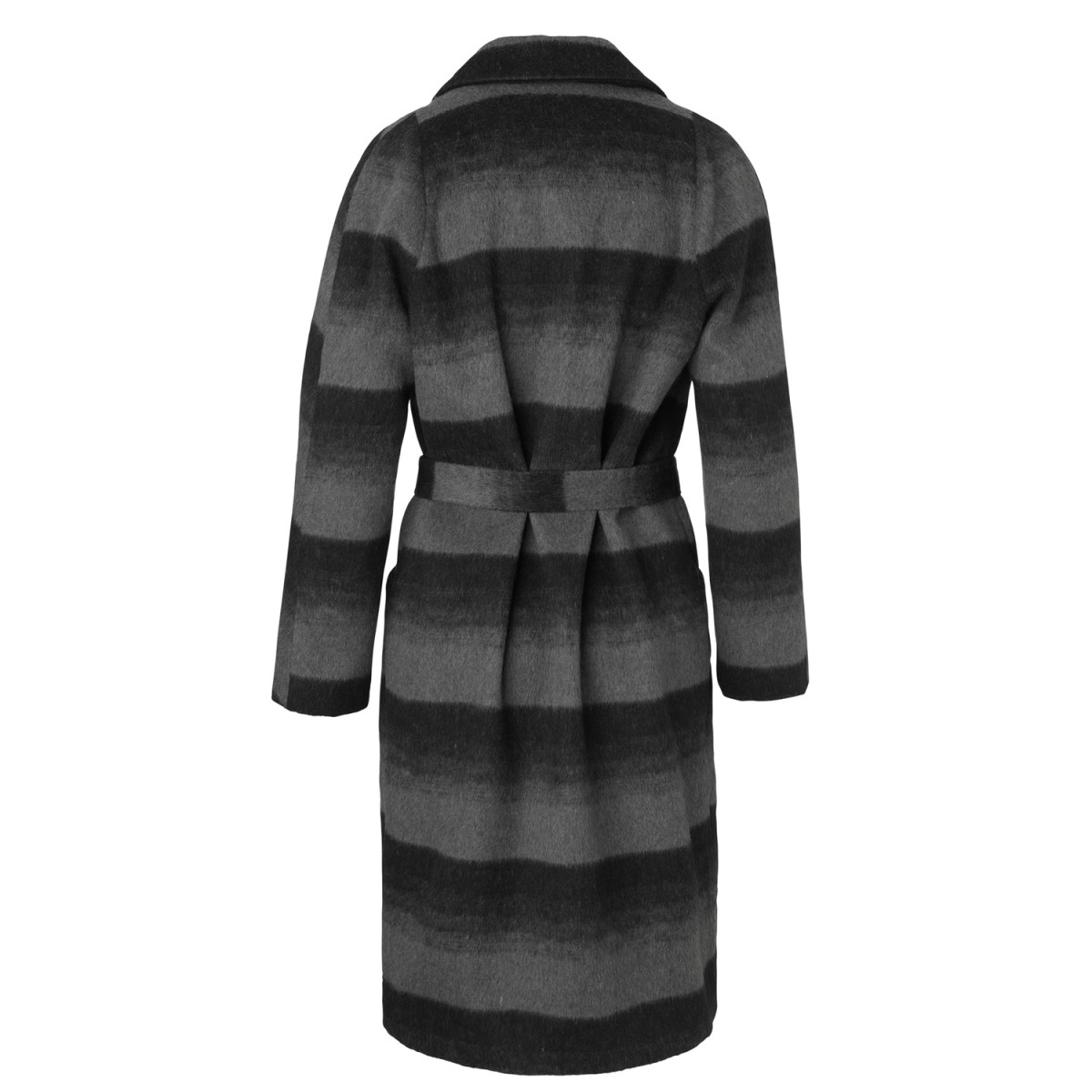Rosemunde 9025-3019 Coat Black Grey Blend-35