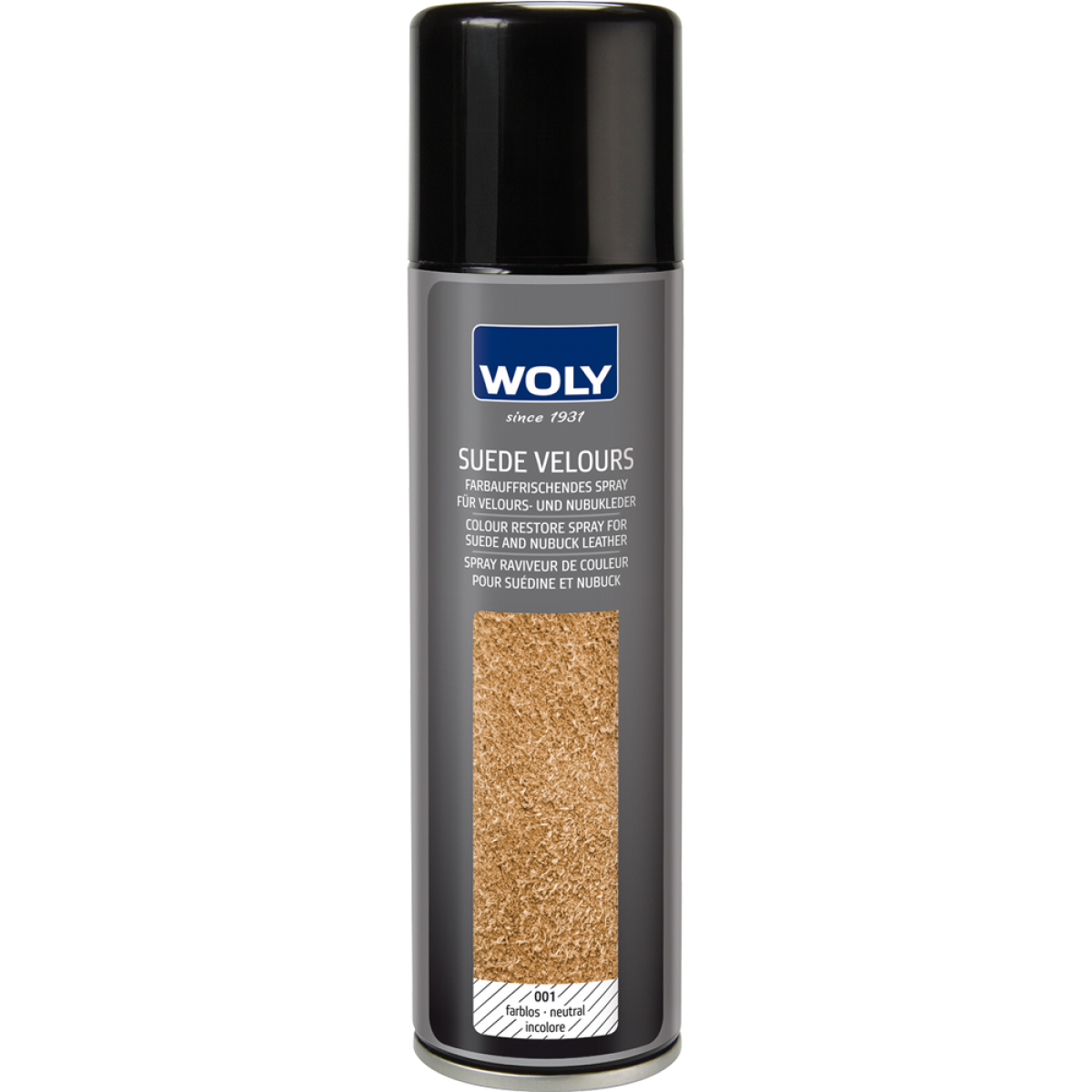 Woly Suede Velours 250ml Black-31