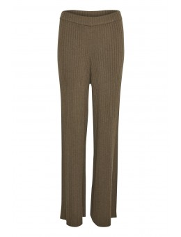 Lounge Nine Sunny LN Pants Major Brown Melange-20
