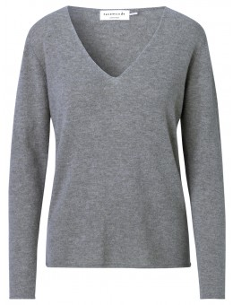 Rosemunde 1435-005 Pullover Medium Grey Melange-20