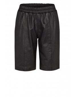 Moliin 6018 Camille Shorts Leather Black-20