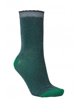 Becksöndergaard 1910875000 Darla Sock 533 Darkest Green-20