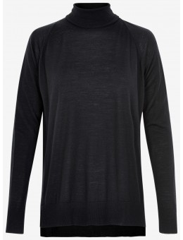 Six Ames Petra Roll Neck C1000 Black-20